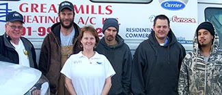 Great Mills staff