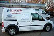 Great Mills Van